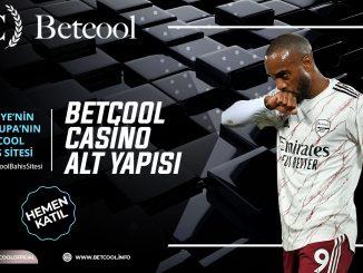Betcool Casino Alt Yapısı