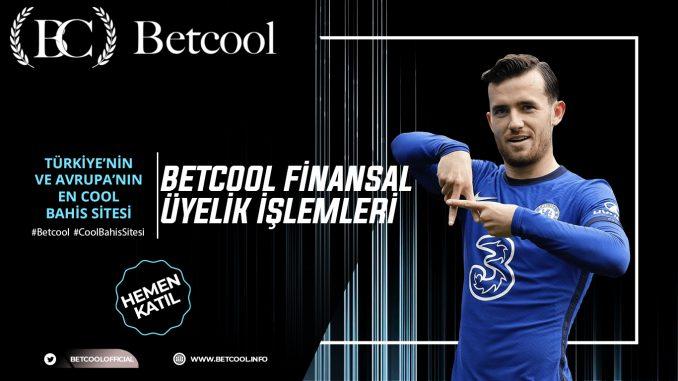 Betcool Finansal Üyelik İşlemleri