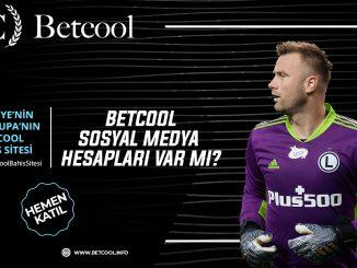 Betcool sosyal medya hesapları var mı